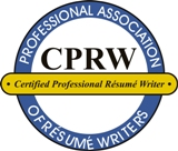 Certified Professional Resume Writer logo